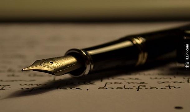 2. Scriptophobia:公眾寫作恐懼症