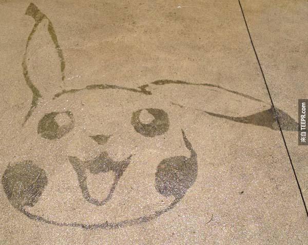 這個人每次花這麼久時間洗地板的原因真的太酷了。我簡直愛死了!