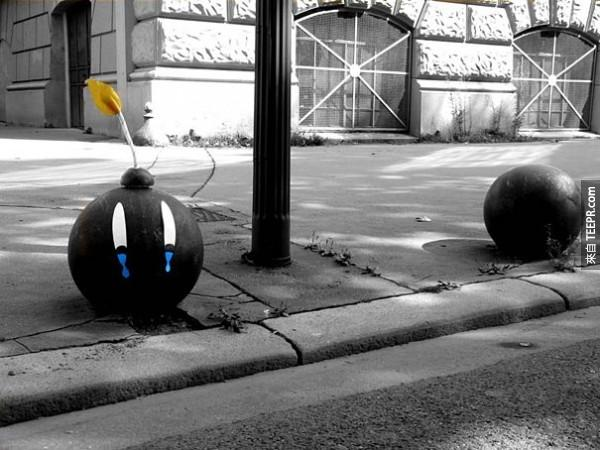 街上這些東西真的讓我看得很開心...真希望到處都可以看到!