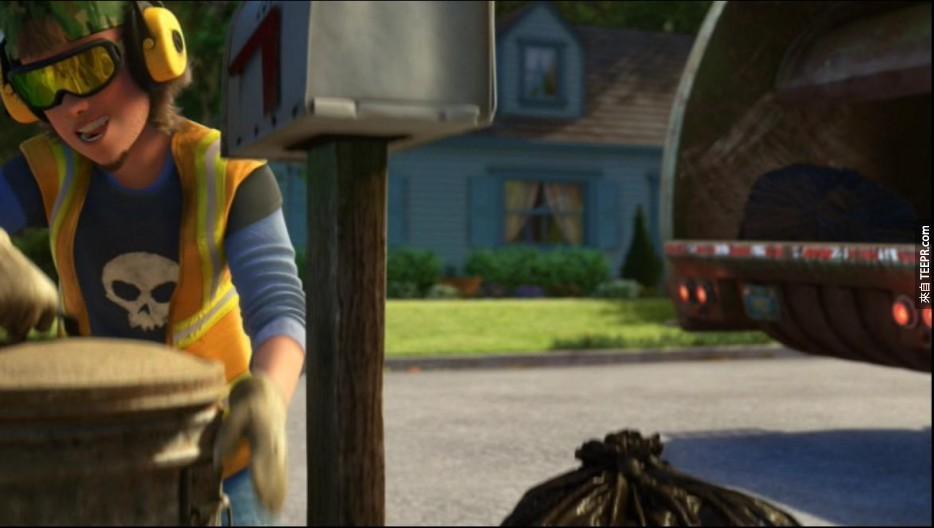 Sid原本在玩具总动员一中担任反派角色,到了第三集,Sid变成了清道夫。