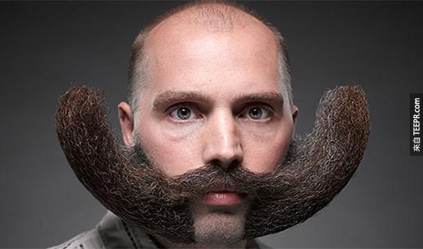 21. Pogonophobia:鬍鬚恐懼症