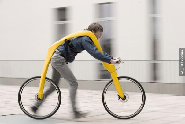 19.)真的是一台腳「踏」車啊!哈哈