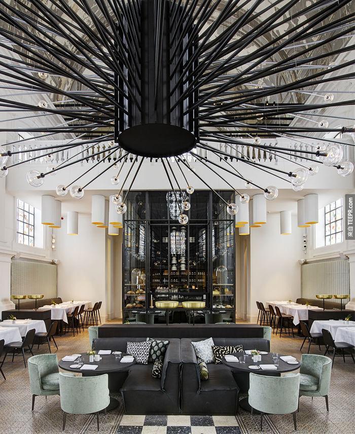 這20間餐廳的食物已經很好吃了,但是裡面的裝潢才是重頭戲。