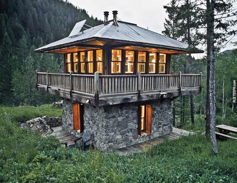 看過這27間超棒的窄小房子後,我再也不想要住在大房子裡面了!