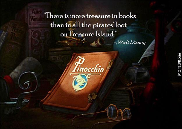 """""""書中的寶藏絕對比那些金銀珠寶來的更為值錢!"""""""