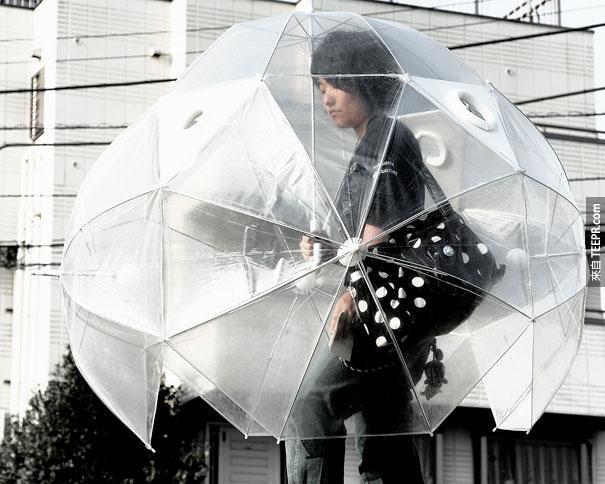27.)全身傘!