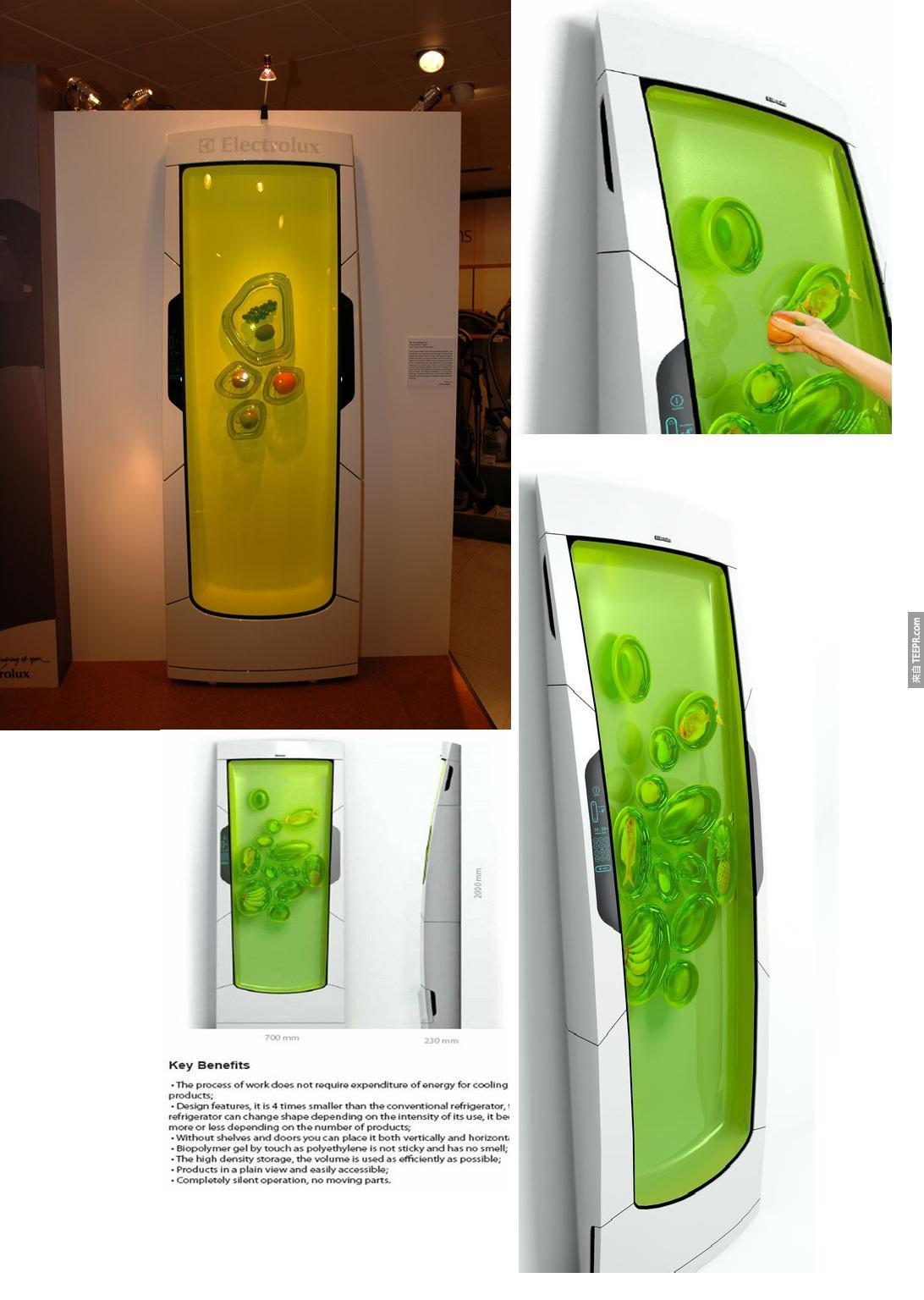 10. 未来的冰箱?!