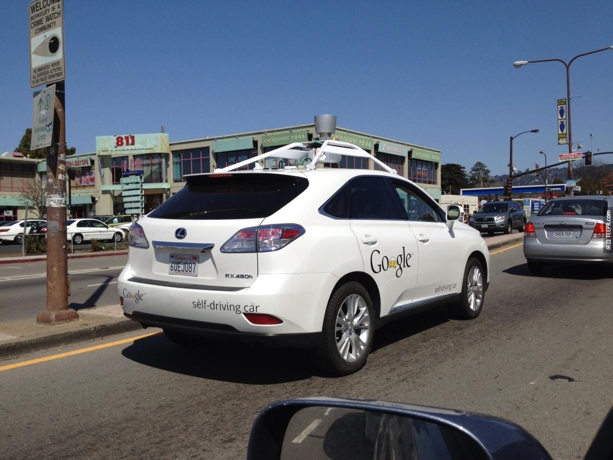 12. Google的无人车!