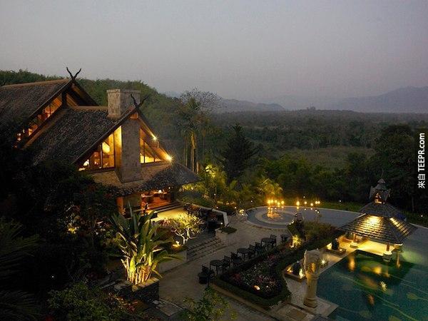 金三角安納塔拉大象營及度假酒店,泰國。