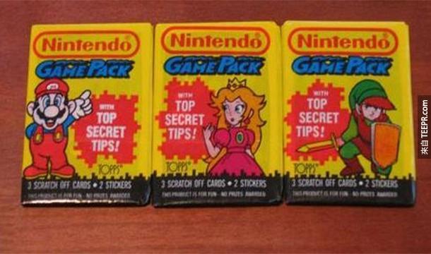 4.) 任天堂原本是一家交換卡片遊戲的公司。