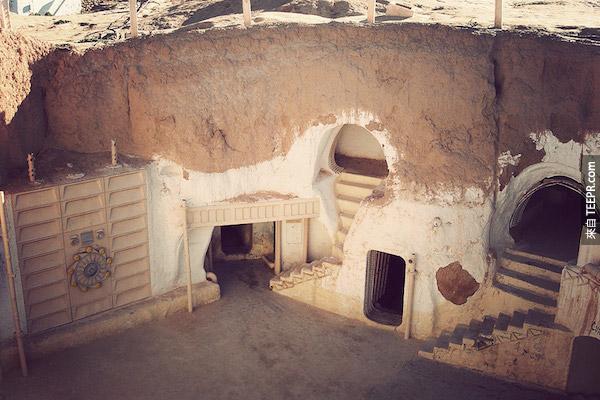 酒店西迪德里斯,突尼斯。