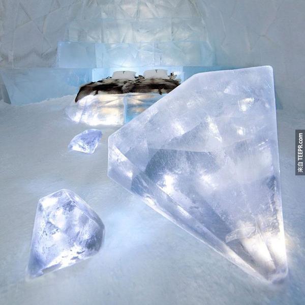 冰旅館,尤卡斯耶爾維,瑞典。