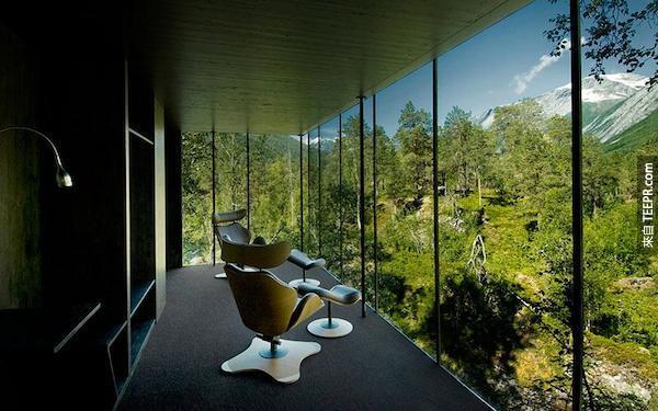 Juvet山水大酒店,挪威。