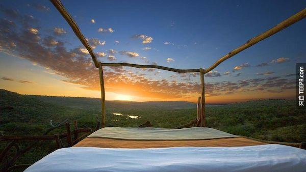 Loisaba明星床,肯尼亞。