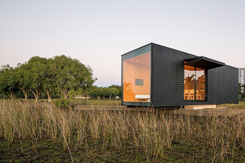 一個豪華而且有彈性的模組化預製組合屋。我們未來有機會住在裡面嗎?