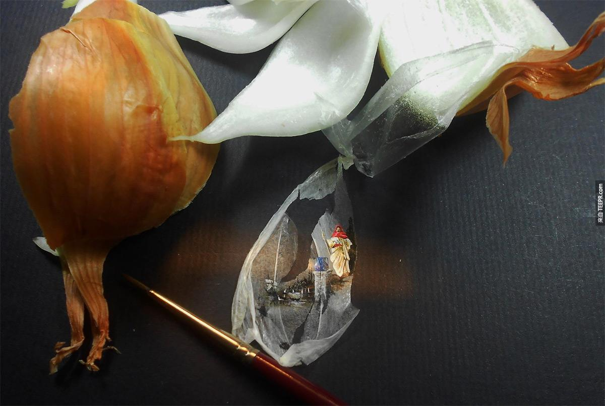 2.) Onion skin