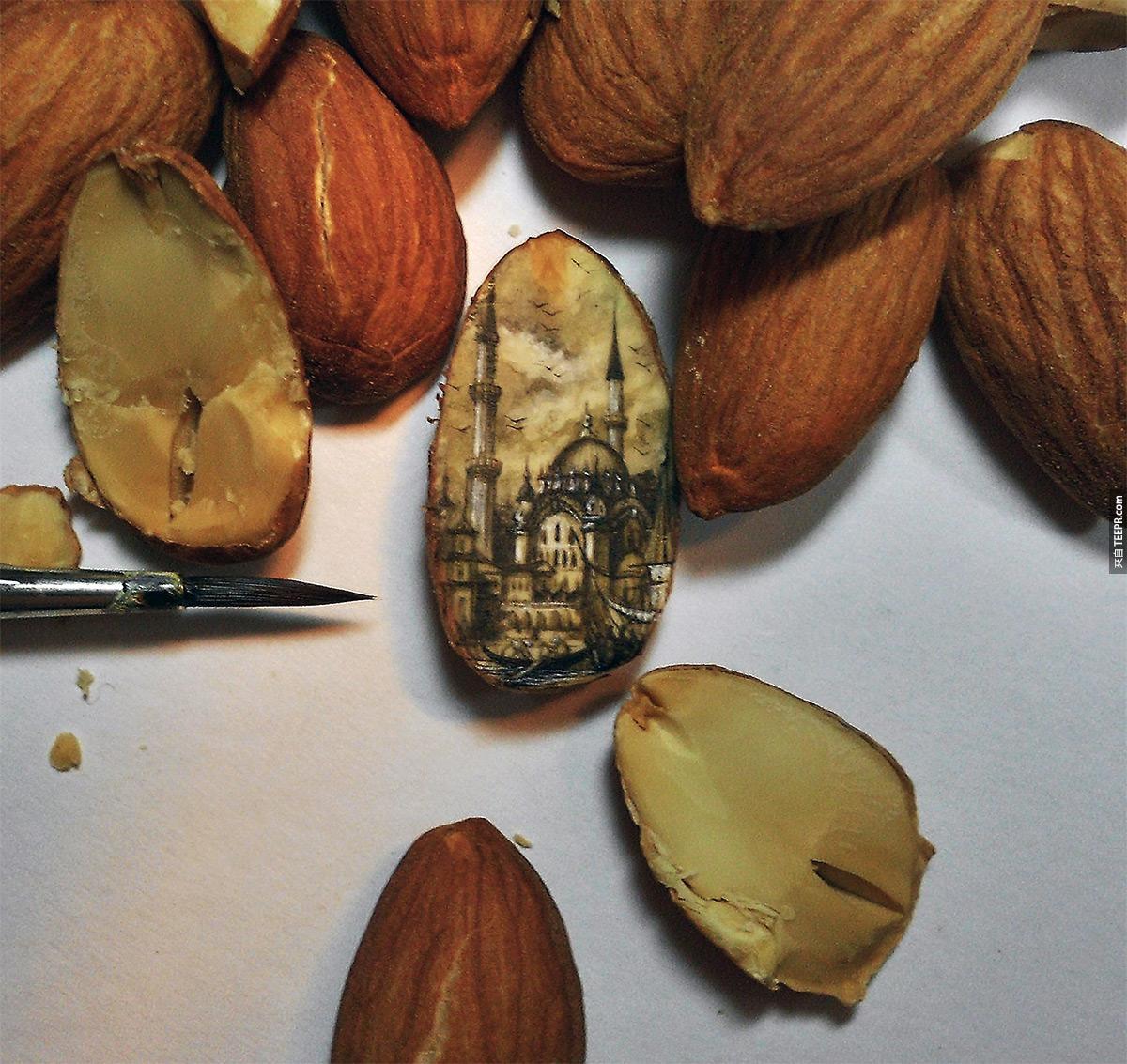 4.) Almond