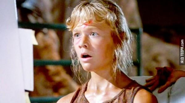 記得《侏羅記公園》裡的小女孩嗎?我好慶幸她沒有再繼續拍電影。