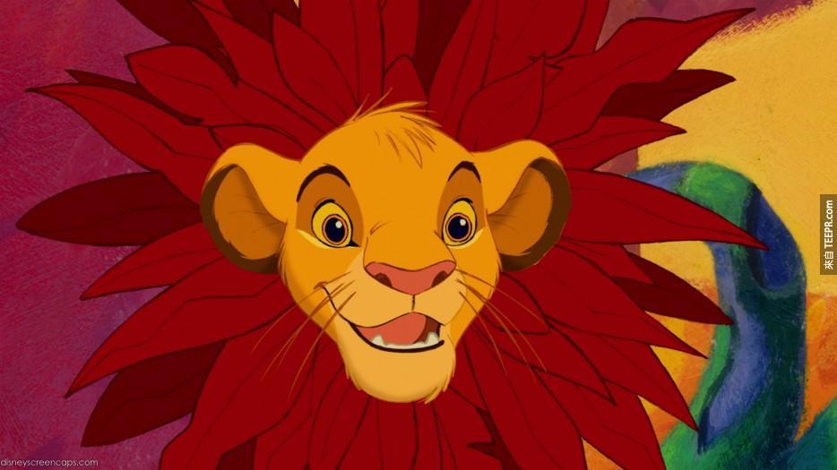 电影狮子王中都是使用老虎的叫声,因为狮子的叫声并不洪亮。
