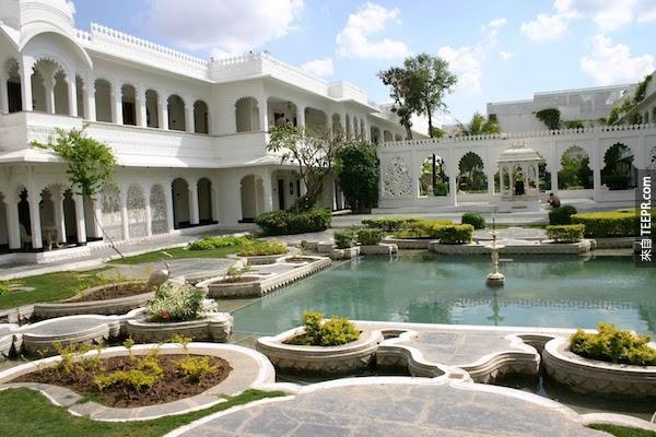 泰姬陵湖宮,印度。