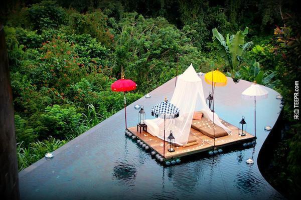 烏布空中花園,巴厘島。