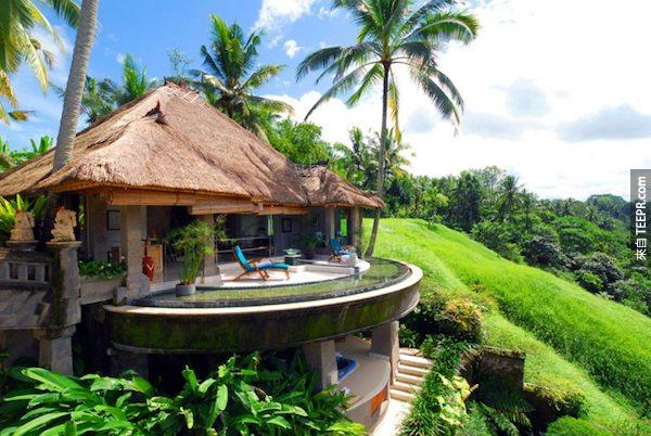 總督酒店,巴厘島。