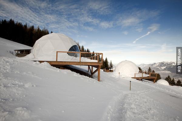 白布丁酒店,瑞士。