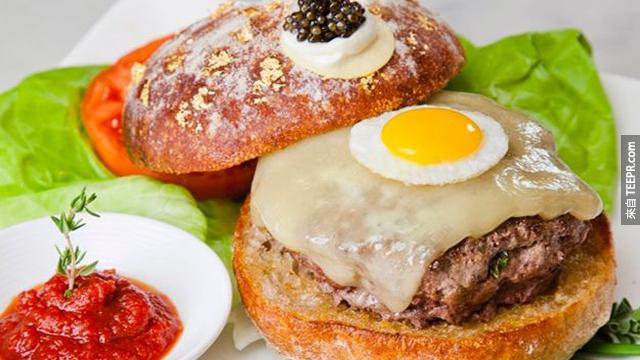 25件全世界昂貴到會讓你發瘋的奢侈品。9000元的漢堡?!