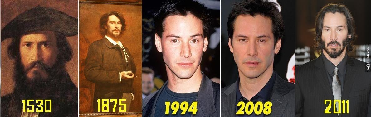 17個好萊塢巨星上輩子的樣子,像到不相信都不行了!
