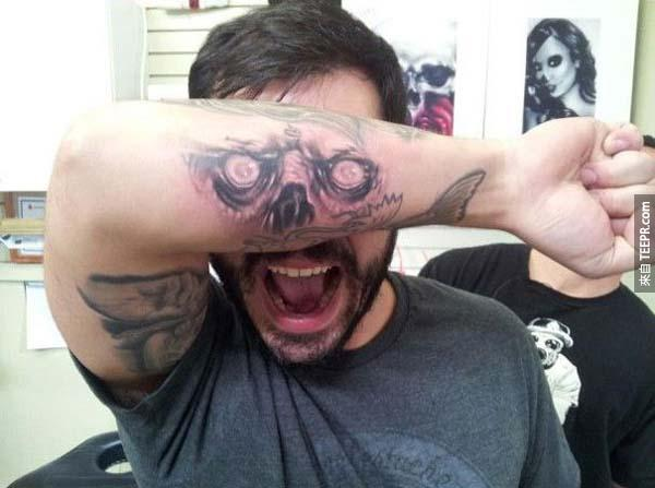 我不會想要一個刺青,但是這30個刺青讓我超愛!特別是#6。
