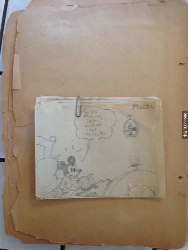 她差一點把曾祖父的老舊剪貼簿丟掉了...但是好險她沒有,因為裡面的東西...!