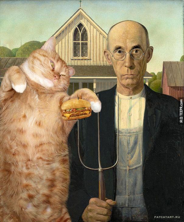 funny-fat-cat-old-paintings-zarathustra-svetlana-petrova-13