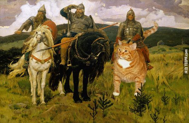 funny-fat-cat-old-paintings-zarathustra-svetlana-petrova-2