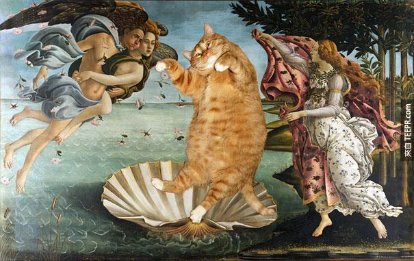 funny-fat-cat-old-paintings-zarathustra-svetlana-petrova-8