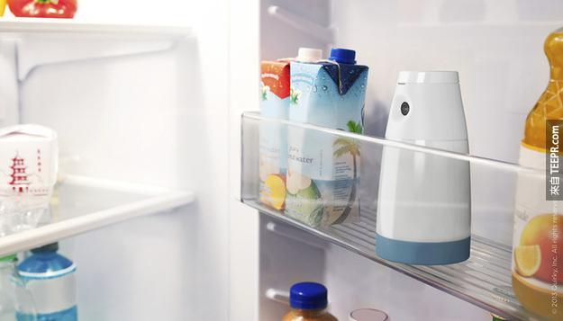 18.當你外出購物,冰箱監視器是你的好幫手!