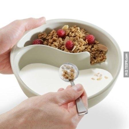 6.麥片早餐的好幫手。