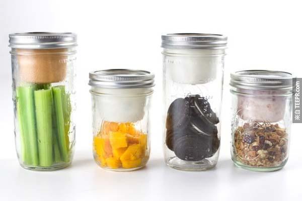 21.)多功能玻璃瓶組。