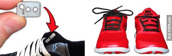 22.)免繫鞋帶裝置。