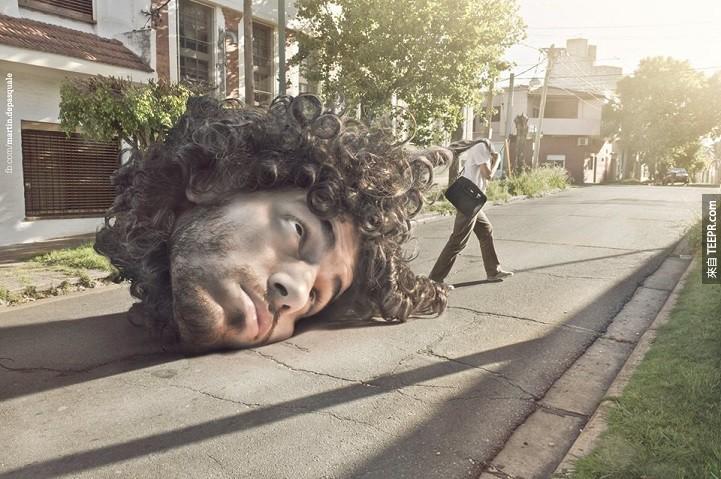 請注意:這些照片可能會讓你的腦袋爆掉。太不真實了!