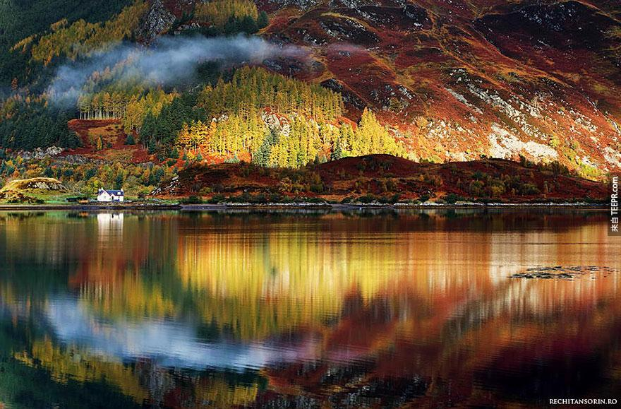 這就是你沒有見過的蘇格蘭。怎麼都沒有人跟我說過這個地方美成這樣?!