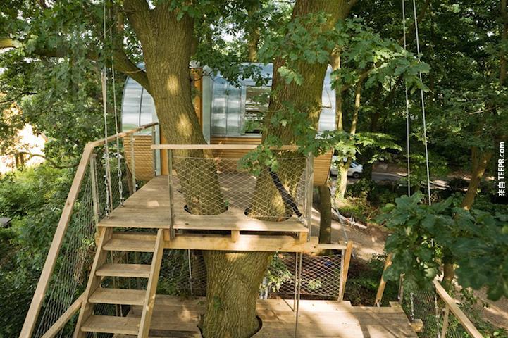 不會吧...又是一個樹屋?你一定要看了才會知道有多棒。