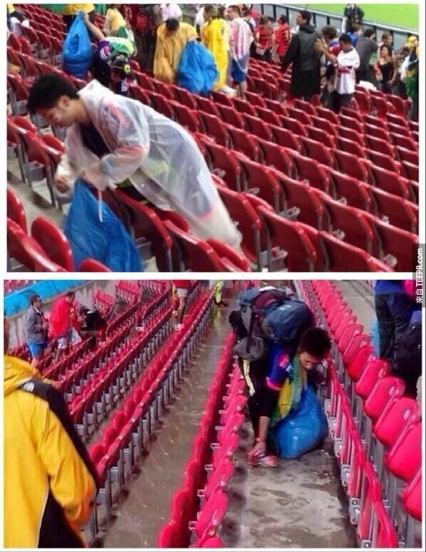 當這些球迷支持的隊伍輸了之後,他們做出的舉動讓全世界震驚。