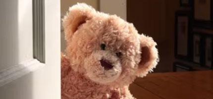 你或許不知道,但這就是你的泰迪熊眼中的你。我好希望這是真的。