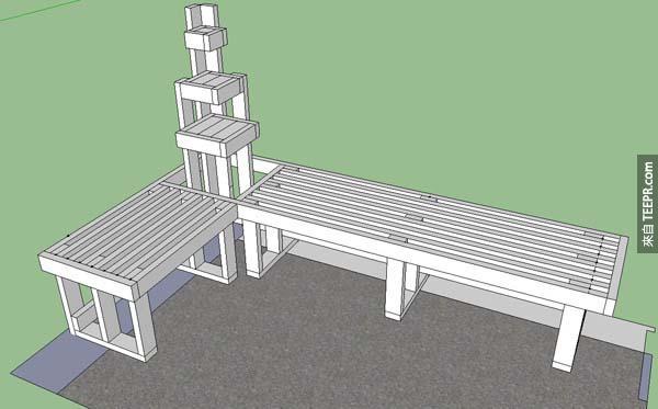 這個人把他的超級小的陽台變成最完美的舒適空間。你真的一定要看看大改造後的結果!