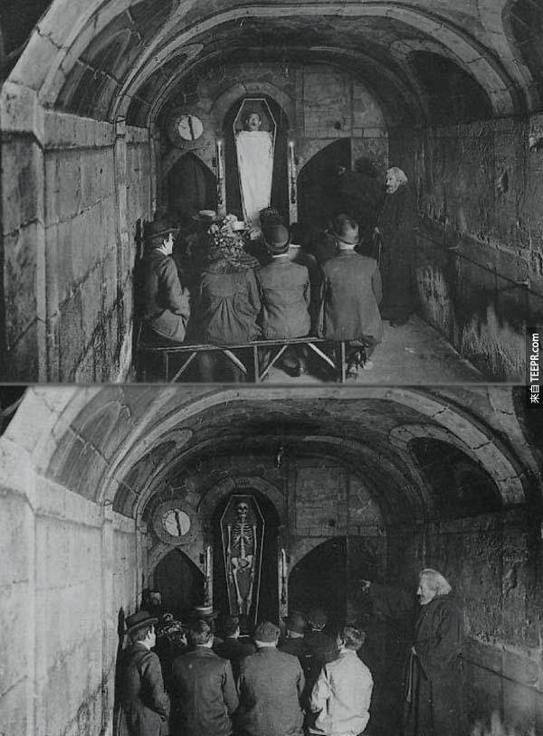 我很愛這家200年前的古法國地獄夜總會,但是我應該不會敢進去。