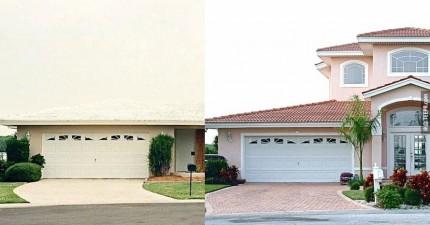 這10個主人把他們老舊無趣的房子180度大改造。之前之後變得太棒了!