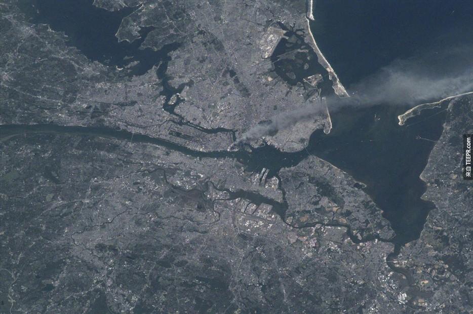 43. 紐約市2001年9月11日