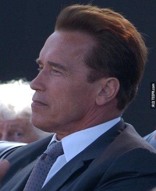 7.) 阿諾史瓦辛格( Arnold Schwarzenegger )