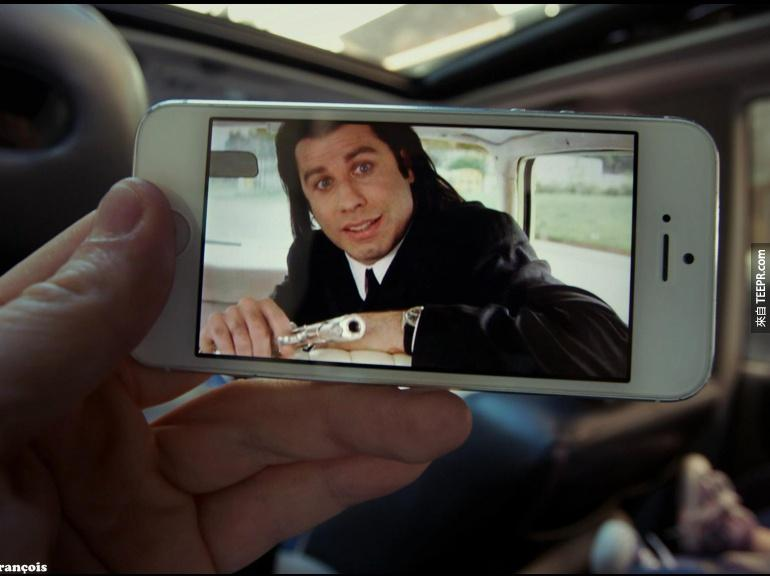 不喜歡你周圍的環境嗎?這個人利用一台iPhone就輕易地改變了他所看到的世界。