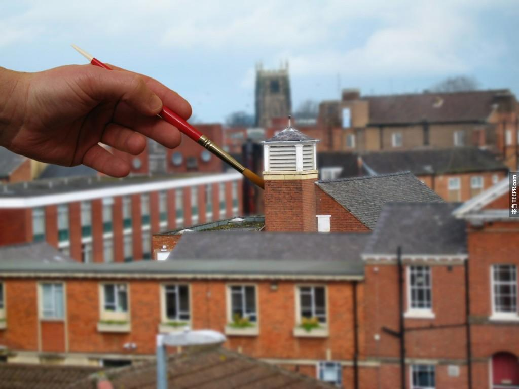 18.) Just putting the finishing touches on it. - Loughborough, England